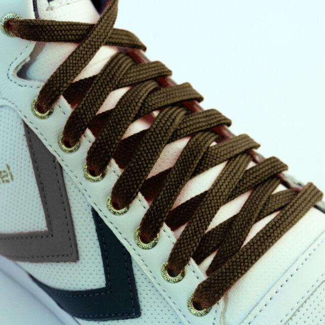 Shoe Laces Flat Coloured Trainer Boot Shoes Short Long Thin New Kids Shoelaces