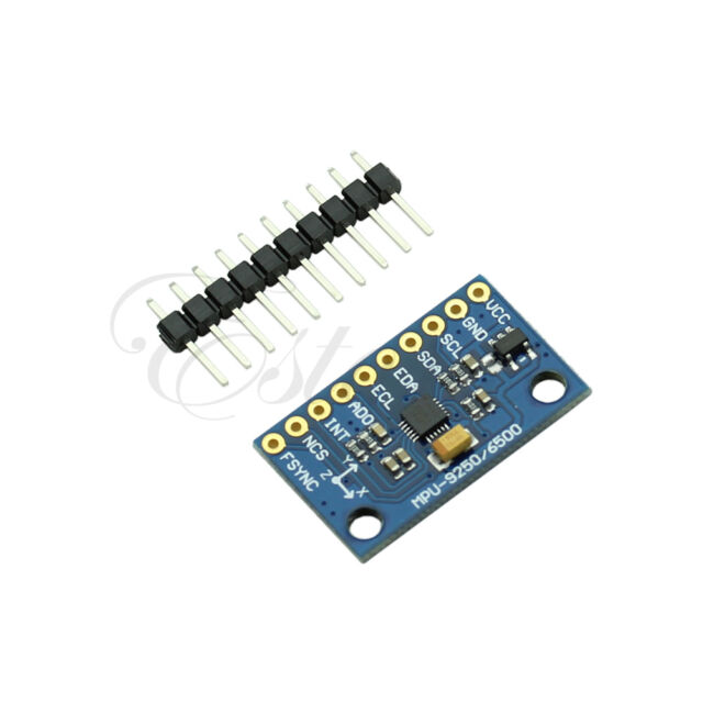 New SPI/IIC MPU-9250 9-Axis Attitude Sensor Module Gyro+Accelerator+Magnetometer