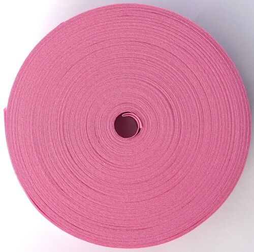 1 inch Assorted Colours Cotton Bias Binding 25mm 5m lengths