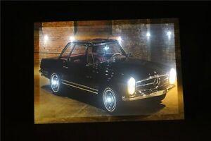Mercedes-Benz-SL-CLASS-Oldtimer-LED-Leucht-bild-Beleuchtung-Wohnzimmer-0-5