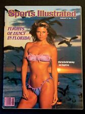 Sports Illustrated Magazine February 9,1981 Christie Brinkley Swimsuit Issue