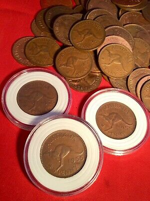 1957 Penny aUncirculated Australian PreDecimal 1 x Coin w  New Case Suit PCGS ?