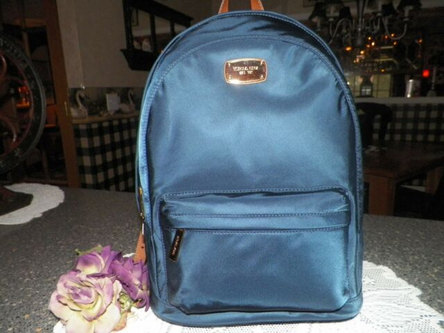 77c26ee09c07 Michael Kors Jet Set Backpack Large Navy Nylon 38T6XTTB3C for sale ...