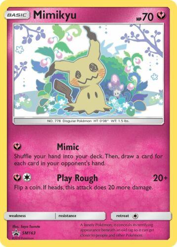 Mimikyu SM 163 Holo NMMimigma EN Promo Pokemon Karte