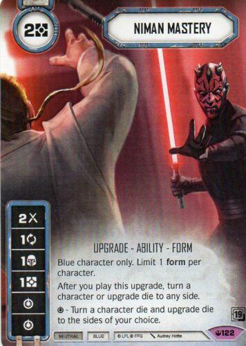 Niman Mastery Star Wars Destiny Card Game Promo