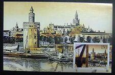 Maximum Card Yugoslavia 1992 Sevilla Spain start of XX centory MC 1981