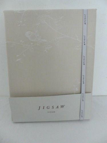 Jigsaw Romantic Bird Duvet Cover, Taupe (Beige) Kingsize