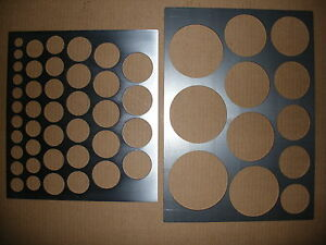 PLASMA CUTTER HOLE STENCILS - <span itemprop='availableAtOrFrom'>Tamworth, Staffordshire, United Kingdom</span> - PLASMA CUTTER HOLE STENCILS - Tamworth, Staffordshire, United Kingdom