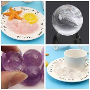 Claro-Piedra-de-cuarzo-La-curacion-de-piedras-preciosas-Bola-de-cristal-Esfera