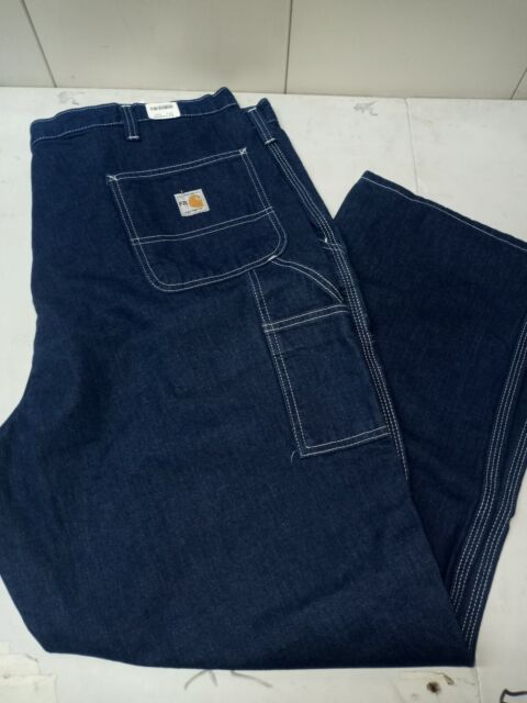 Carhartt FR Mens Carpenter Denim Jeans • 40x32 Preowned • 290-83 ARC 2 NFPA 2112