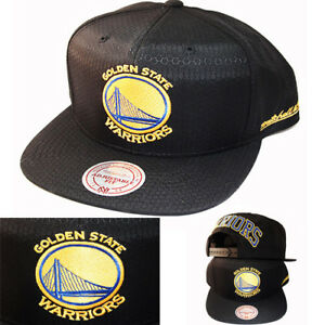 on sale 32da6 2d197 Image is loading Mitchell-amp-Ness-Golden-State-Warriors-Snapback-Hat-