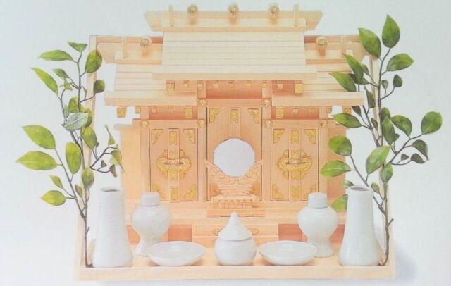 KAMIDANA Japanese Shinto Shrine GOD shelf sacred 11 pcs SET Miniature JINJYA