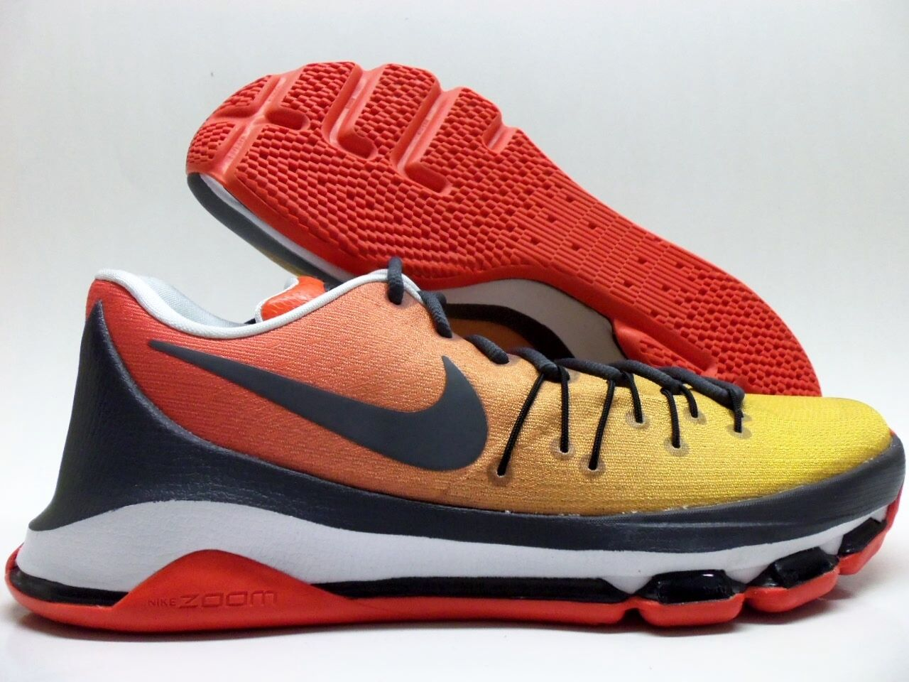 NIKE KD KEVIN 8 VIII ID KEVIN KEVIN KD KEVIN DURANT giallo rosso ANTHRACITE   035897