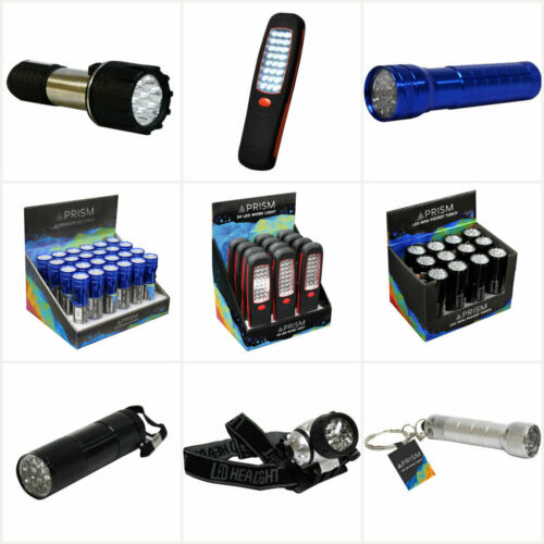 Ultra Bright DEL torche utilitaire léger lampe de poche travail Lumière Avec Batterie DEL Torc