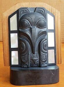 Gary-Minaker-Russ-Haida-Argillite-Sculpture-First-Nations-Northwest-Coast