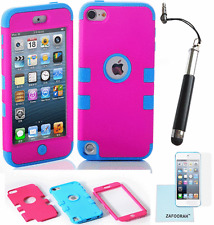 Híbrido A PRUEBA DE CHOQUES 3 en 1 Funda Cubierta para Apple iPod Touch 5th y 6th generación