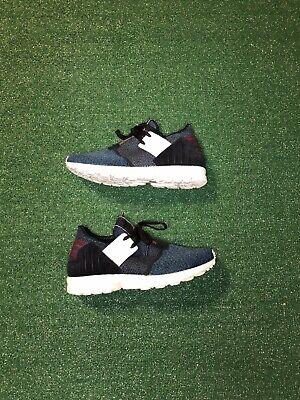 Adidas Zx Flux Plus Men Size 10 Art AQ5398 Blue   eBay