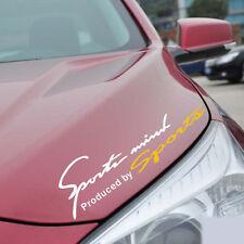 Car Headlight Light Eyebrow Sports Logo Yellow White Reflective Stickers Decal