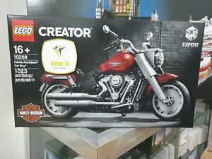 Lego-Creator-10269-Harley-Davidson-Fat-Boy-Brand-New-Jeptall-Sale