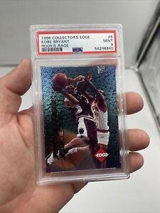 1996-1997 Collectors Edge Rookie Rage Gold Kobe Bryant Card PSA 9 MVP HOF