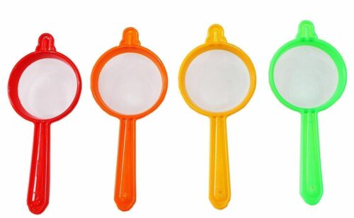 Details about  /Tea-And-Coffee-Plastic-Strainers-Chalni-10-Piece
