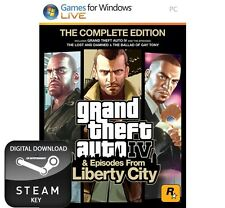 GRAND THEFT AUTO IV 4 COMPLETE EDITION PC STEAM KEY