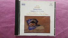 ARVO PART - TABULA RASA SYMPHONY NO. 3. CD NAXOS