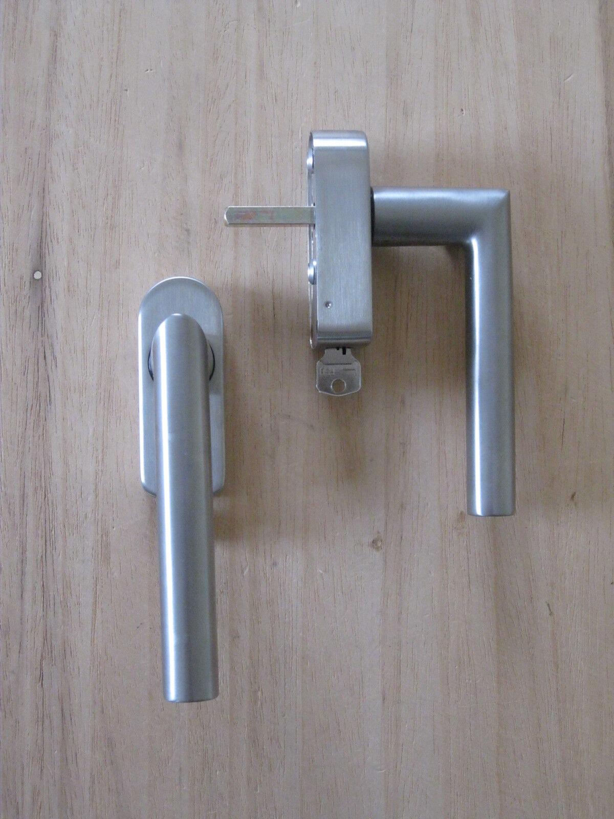 FSB Fenstergriff Mod. 34 1076 Edelstahl abschließbar mit Schließzwang