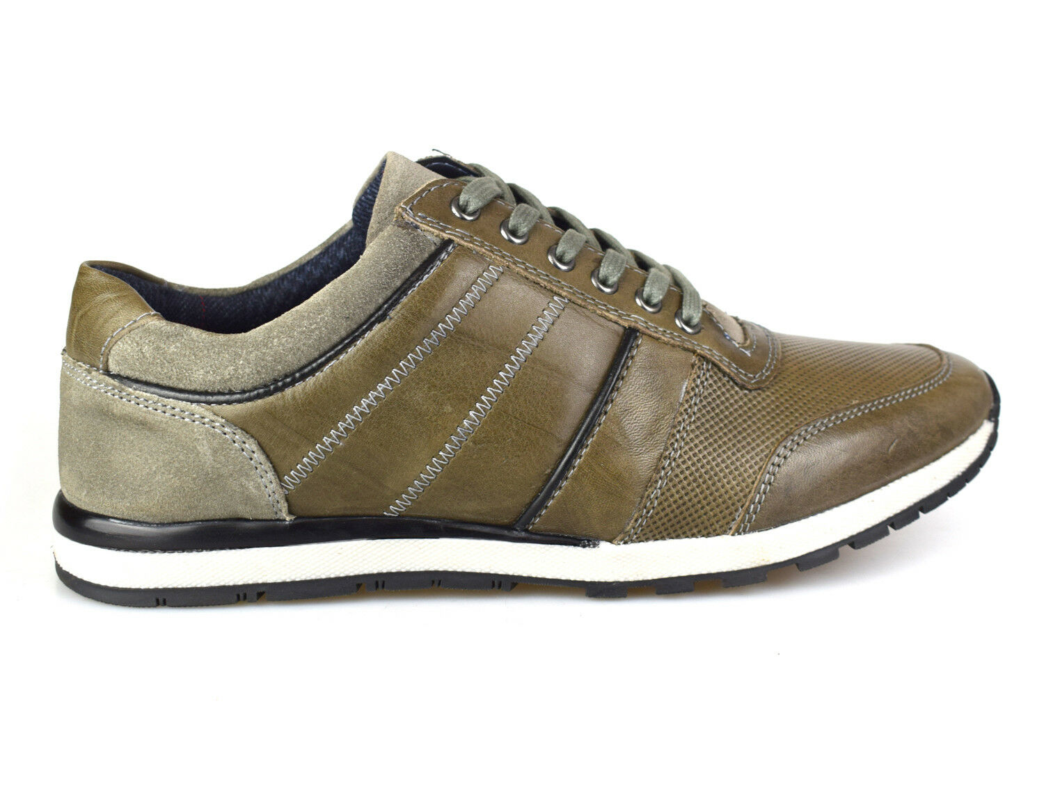 Silber Street London Melton grau Leather Casual Casual Casual schuhe Free UK P&P 00d55e