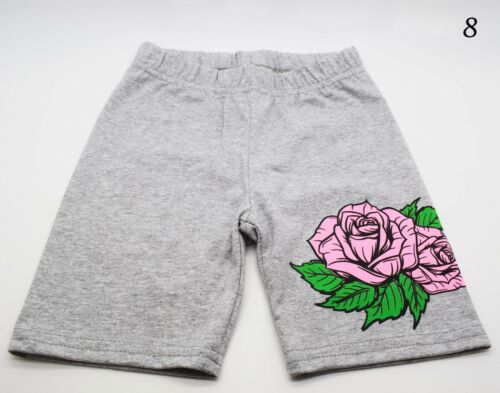 Girls Boys Kids Minnie Frozen Spring Summer Layered Trousers Shorts