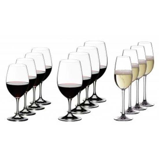 Riedel Ouverdeure vorteilsset 4 vino blancoo - 4 vino tinto-y 4 copas de champán