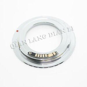 AF-Confirm-M42-Lens-to-Canon-EOS-EF-adapter-500D-1000D-1100D-rebel-Sliver