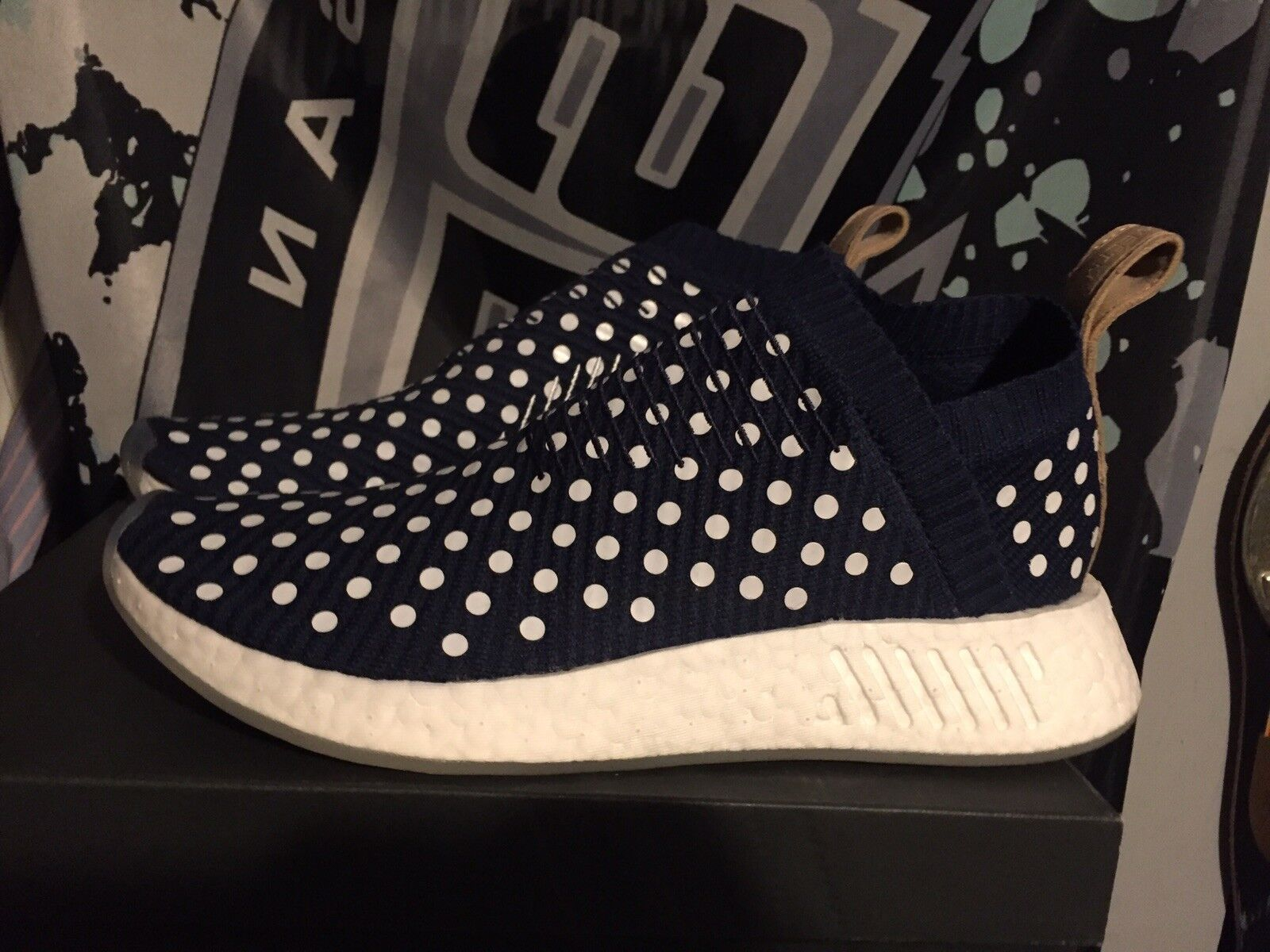 Adidas Nmd Boost Polka Dot Comfortable New shoes for men and women, limited time discount