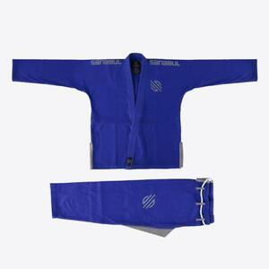 New-Sanabul-A3-Blue-V-2-Ultra-Light-Preshrunk-BJJ-Jiu-Jitsu-Gi-See-Size-Chart