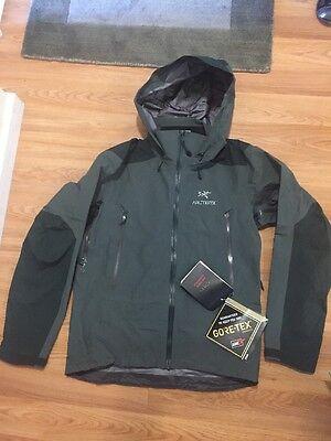 Arc'teryx Mens Beta AR Jacket Gore-Tex Small Nautic Grey NWT $575