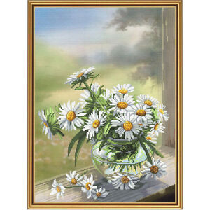 Cross Stitch Kit Camomille Fleur CP3214 							 							</span>