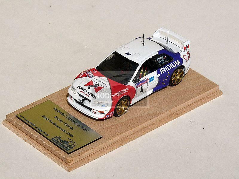 Leszek Kuzaj Subaru Impreza WRC Rally Karkonoski 1999  code3   1 43  Commandez maintenant