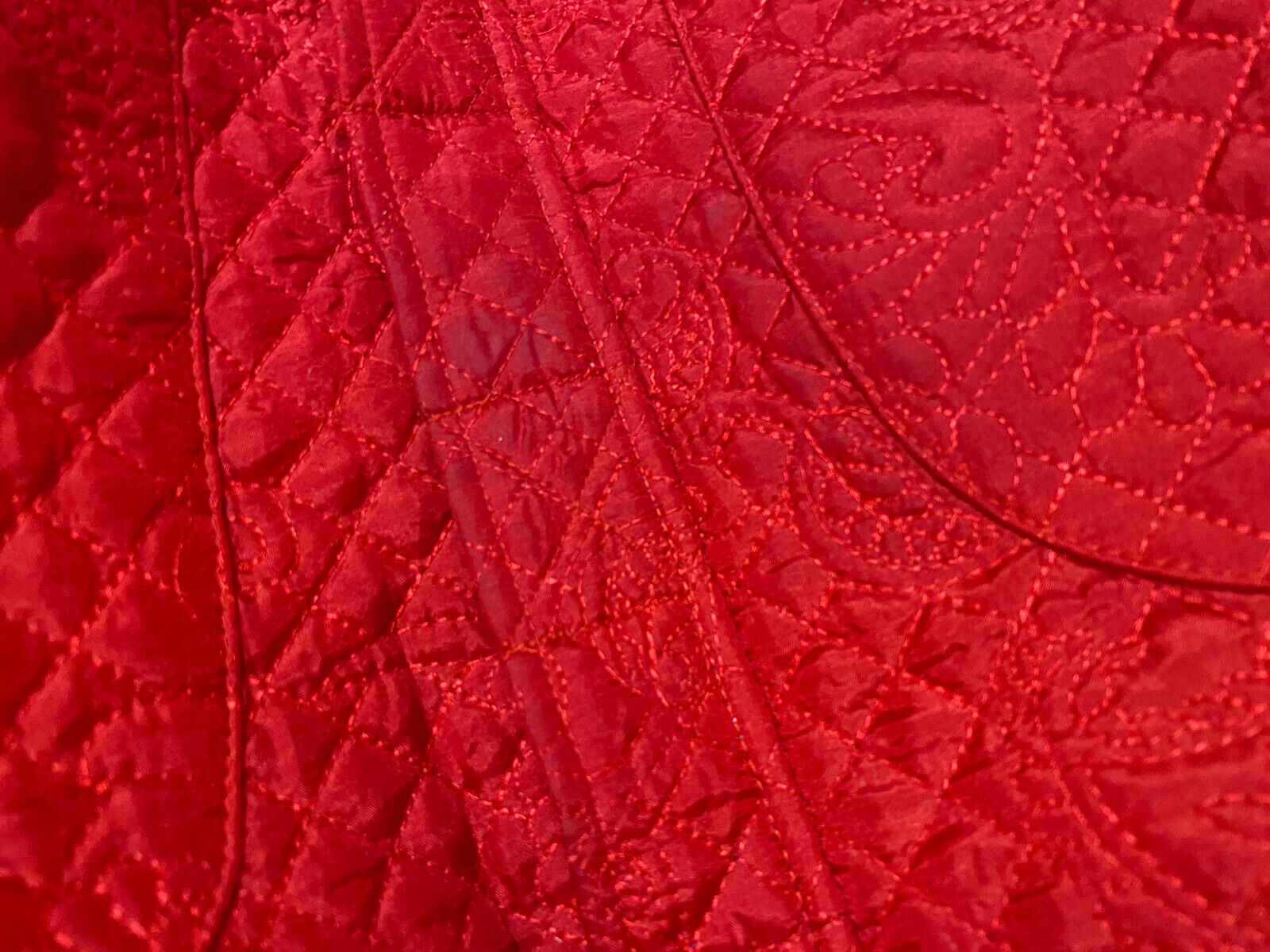 Christopher & Banks Womens Quilted Embroidered Pa… - image 9