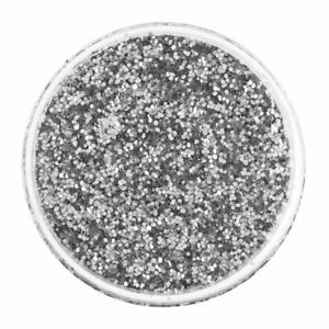 Silver Fine Glitter Shaker Plastic Pot 50g Scrapbooking Crafts Decor Supplies