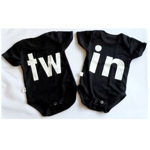 twins gifts for twins Twin Girls baby twins bodysuit baby twins vests baby twins bodysuits baby twins gift set baby twins gift