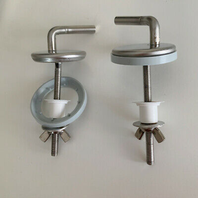 RARE Imperial Ware Toilet Seat Hinges Novad NEW !!!