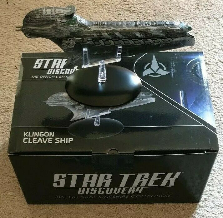 Eaglemoss Star Trek Discovery  Issue 14  Klingon Cleave Starship (IN STOCK)