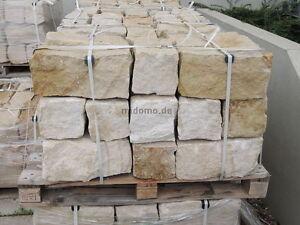 sandstein mauersteine bossiert 20x20x40 cm gartenmauer. Black Bedroom Furniture Sets. Home Design Ideas