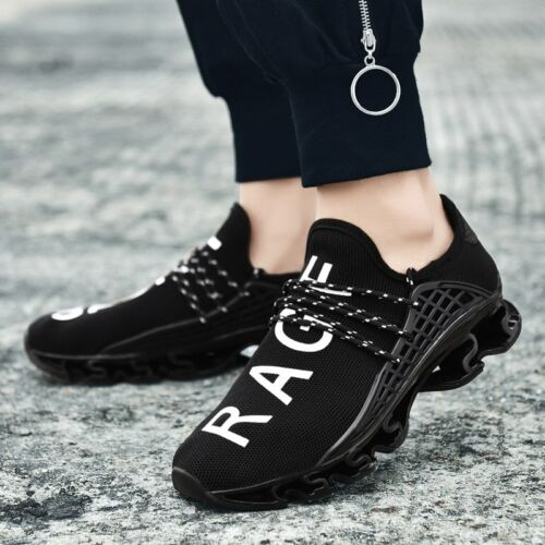 Hommes Chaussures De Loisirs Flying tissage Baskets Running Respirant Sports Lace Up Flats