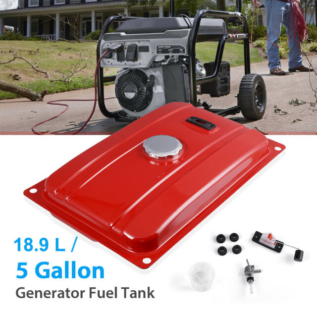 Camisin Universal 5//7 Gallon Generator Gas Secondary Fuel Tank Valve Chrome Cap Engine