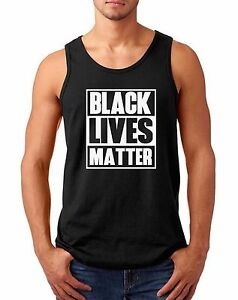 Men-039-s-Tank-Top-Black-Lives-Matter-2-Shirt-Civil-Rights-Black-History-Month-Tee