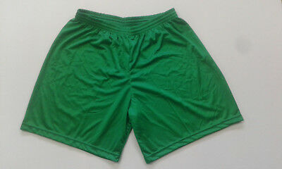 Compiacente Footex 11 Pantaloncino Calcio Calcetto Misura L Colore Verde Poliestere Lucido