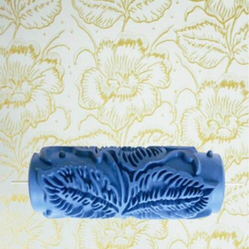 """Wall Painting Roller DIY 5/"""" 3D Rubber Decorative Flower Decorating Tool Set Home"""