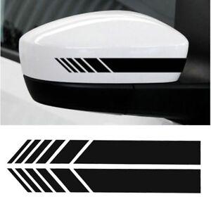 X2-Retroviseur-Autocollant-Voiture-Bande-De-Course-Pour-Mercedes-Benz