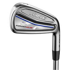 NEW Cobra Golf KING Forged One Length Irons 4-PW KBS Tour Steel Stiff Flex
